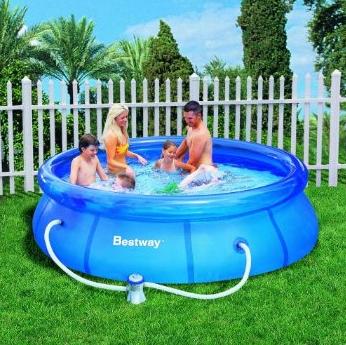swimming pool mit pumpe 305 76 bestway 57109 gs f r 37 91 gutscheine gutscheincodes. Black Bedroom Furniture Sets. Home Design Ideas